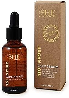 Om She Aromatherapy Argan Oil Face Serum 1.01 Fl. Oz. by Om She