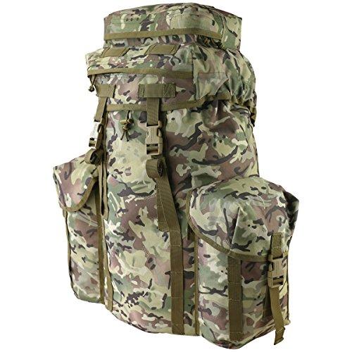 Kombat UK Unisexe Produit Officiel Mod Cadet Lot MK 2-BTP, Motif Terrain Britannique, Taille Unique