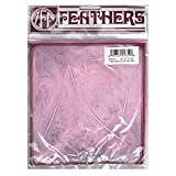 ZUCKER Feather (TM) - Loose Turkey Marabou Dyed - Candy Pink