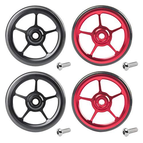 #N/a Ruedas Fáciles de La Bici Plegable Ligera 4x Easywheel Modificado para...