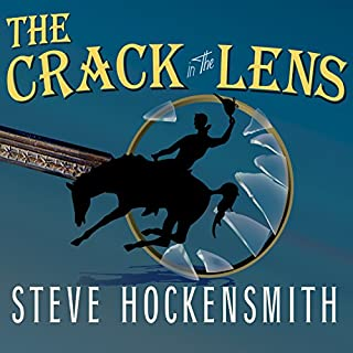 The Crack in the Lens audiobook cover art