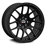 XXR Wheels 530 Black Wheel with Painted Finish (18 x 7.5 inches /5 x 100 mm, 38 mm Offset)
