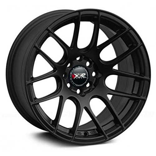 XXR Wheels 530 Black Wheel with Painted Finish (18 x 7.5 inches /5 x 100 mm, 38...