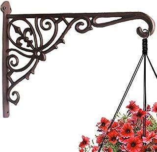 Best cast iron hanging basket brackets Reviews