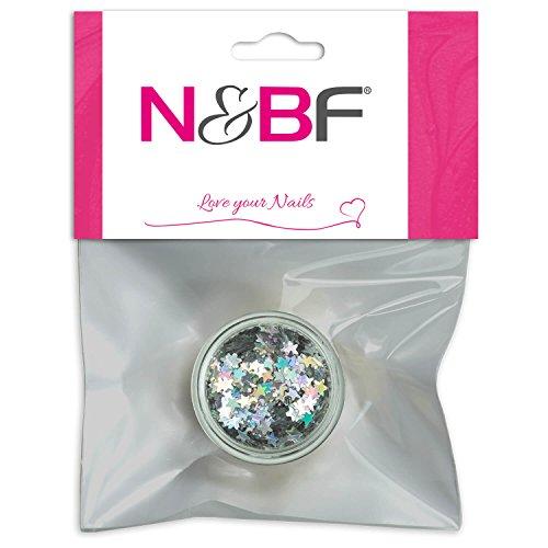 Nail Art étoiles Silver de pour Full Cover Model couches & individuelle Nail Art Design Motif