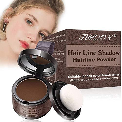 Hairline Powder,Poudre Capillaire,Hair Shadow,Hair Styling Powder, Poudre pour les Cheveux,Poudre anti-cernes pour perte de cheveux, Poudre spéciale racine...
