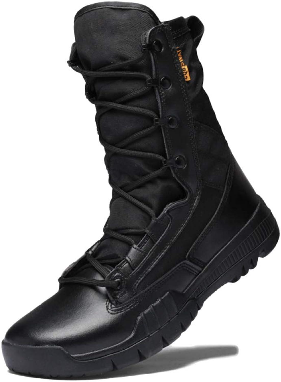 Men Boots Martin Winter Desert Tactical Boots Breathable Lightweight