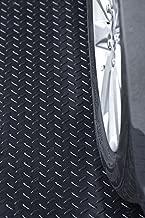 Resilia Heavy Duty Garage Floor Runner & Protector Mat - Slip-Resistant Grip, Embossed Diamond Plate Pattern, Water & Stain Resistant, Black (4 feet x 10 feet)