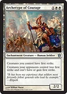 Magic: The Gathering - Archetype of Courage (4/165) - Born of the Gods