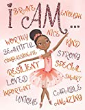 I Am: Positive Affirmations for Kids | Coloring Book for Young Black Girls | African American Children | Self-Esteem and Confidence Coloring Book for ... and Brown Girls with Natural Curly Hair)