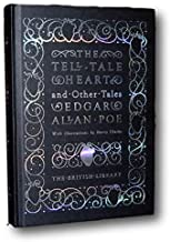 Rare - Tell Tale Heart Black Cat by Edgar Allan Poe Illustrated New Deluxe Hardcover