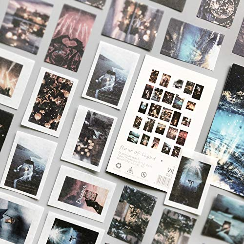 PMSMT 50 unids/Lote Pegatinas de álbum de Recortes posmodernas Pegatinas de Papel Copos estacionarios Accesorios de Oficina Suministros de Arte