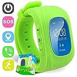 Kinder Smart Watch GPS-Telefon Uhr Wasserdicht Ohne Abhörfunktion, für Kinder, SOS...