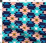 Decke, Indigen, Indianer, Geometrisch, Diamanten, Dreiecke