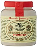 Les Assaisonnements Briards POM 03 Mostaza Meaux, 100 g, paquete de 4
