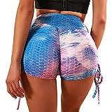 Merlvida Leggins Mujer Push Up Pantalones Cortos...