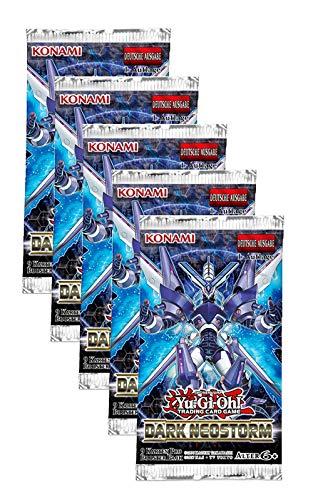 Unbekannt YuGiOh - Dark Neostorm - 5 Booster Packs - Deutsch - 1. Auflage
