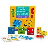 Childking Juego de Rompecabezas de Bloques preescolares para niños de 4 a 8 años, Rompecabezas de...