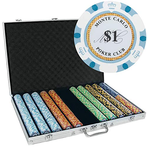 1000 14g clay poker chips - 1