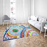 Oedim Alfombra Gresite Colores PVC | 200 cm x 200 cm | Moqueta PVC | Suelo sintasol | Decoración del Hogar