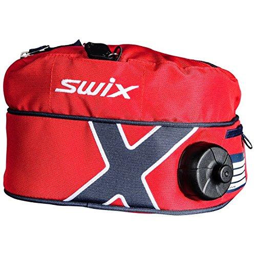 Swix esquí Gear Norge con Aislamiento Bebidas cinturón, 1-Liter, Rojo/Azul