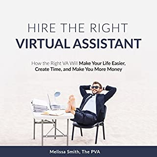 Hire the Right Virtual Assistant audiobook cover art