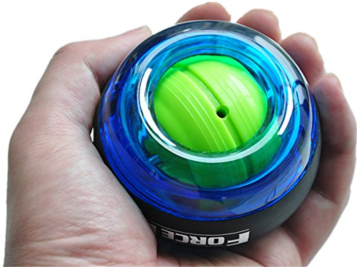 WINCSPACE Wrist Trainer Power Gyro Exerciser Ball