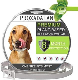PROZADALAN Collar Antiparasitario para Perros, Impermeable, Diseño Impermeable y 8 Meses, Eficaz, Natural para Pequeños An...