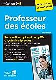 Concours Professeur des écoles (CRPE) 2019 - Préparation rapide et complète à toutes les épreuves avec 8 fiches à écouter offertes - 100 % efficace