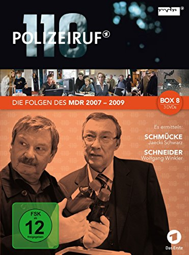 Polizeiruf 110 - MDR-Box 8 [3 DVDs]