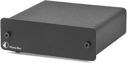 Pro-Ject Audio – Phono Box DC – MM/MC Phono preamp with line Output – Blk