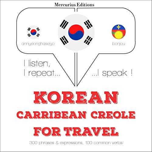 Korean – Carribean Creole. For travel cover art