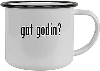got godin? - 12oz Camping Mug Stainless Steel, Black