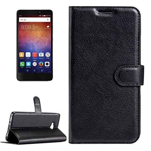 For cellphone Cases, For Huawei Ascend XT / H1611 Litchi Texture Horizontal Flip Leather Case with Magnetic Buckle & Holder & Card Slots & Wallet ( Color : Black )