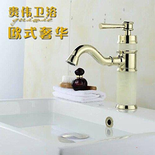Maifeini Continental Antique Grifos _ antiguo grifo lavabo mezclador nuevo Jade Dragon