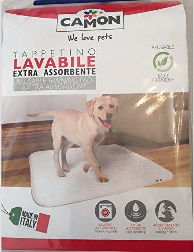 tappetino lavabile extra assorbente per cani misura 70x40cm