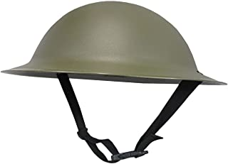 Nicky Bigs Novelties Adult Ally Army Helmet Costume, Olive Drab Green, One Size