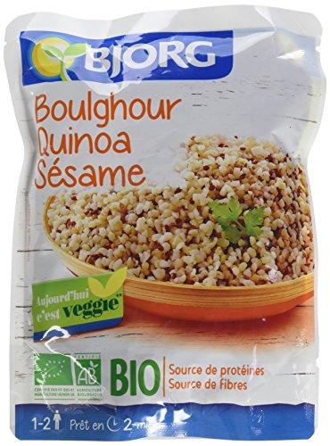 Bjorg Boulghour Quinoa Sésame Bio 250 g