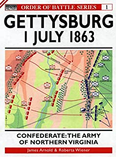 Gettysburg July 1 1863: Confederate: The Army of Northern Virginia (Order of Battle)