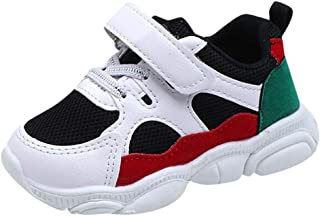 Shusuen Kids Sneaker Unisex Little Soft Sole Mesh Running Sport Shoes
