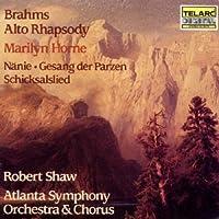 Brahms: Alto Rhapsody, Gesang der Parzen, Nanie, Schicksalslied (1990-10-25)