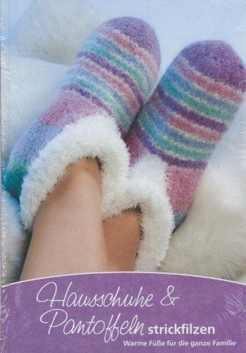 Hausschuhe & Pantoffeln strickfilzen