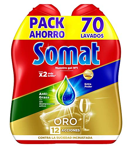 Somat Oro Gel Lavavajillas Antigrasa: 70