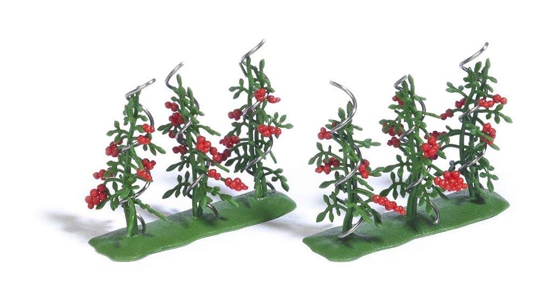 Busch 1239 Tomato Plants 6/ HO Scenery Scale Model Scenery