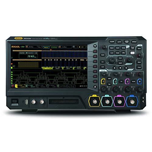 Rigol MSO5104 - Four Channel, 100 MHz Digital/Mixed Signal Oscilloscope