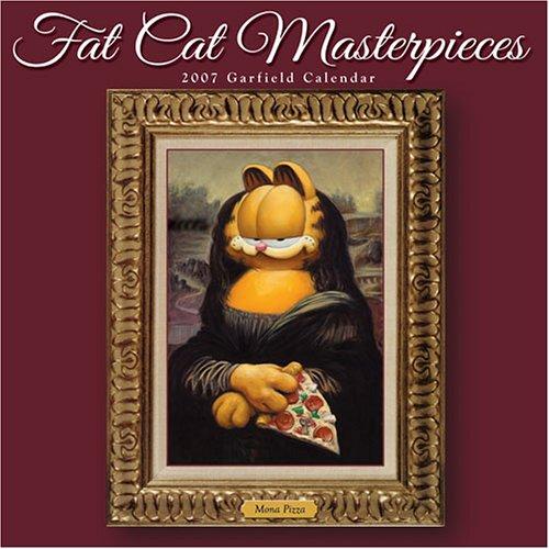 Fat Cat Masterpieces 2007 Garfield Calendar