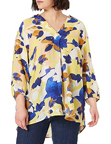 TOM TAILOR MY TRUE ME Damen 1025189 Plussize Printed Bluse, 26595-Big Floral Pattern, 54