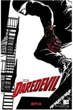Daredevil (TV Series 2015 - ) 8 inch x 10 inch Photo Black, White & Red Netflix Poster kn