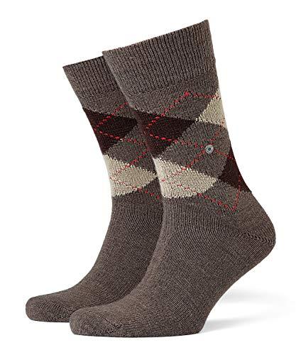 BURLINGTON Herren Socken Preston - Warm Und Weich, 1 Paar, Braun (Brown 5256), Größe: 40-46