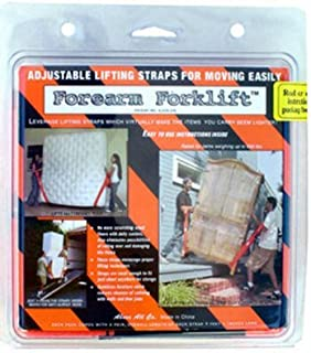 Forearm Forklift Lifting and Moving Straps-Orange